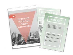 gratis e-book om je voor te bereiden op je fotoshoot
