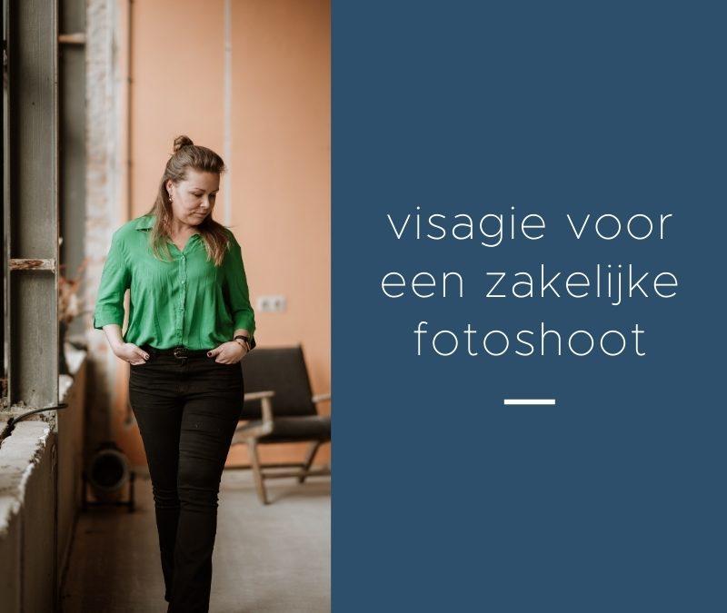 visagie voor een zakelijke fotoshoot
